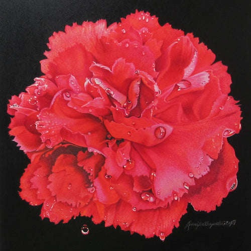 """50 Shades of Red"" by Jennifer Carpenter - Giclee Print"