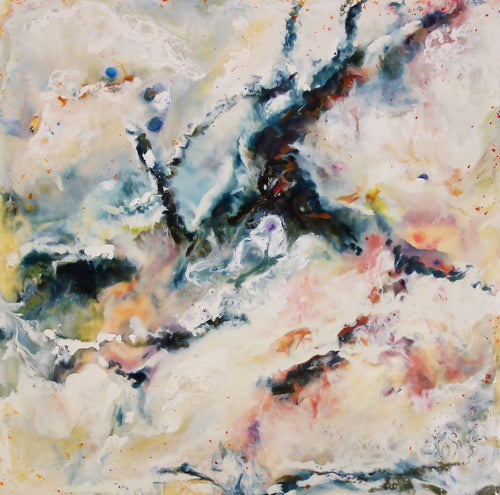 """A Tenuous Brumal Light"" by J K (Karen) Phillips Sewell, Encaustics"