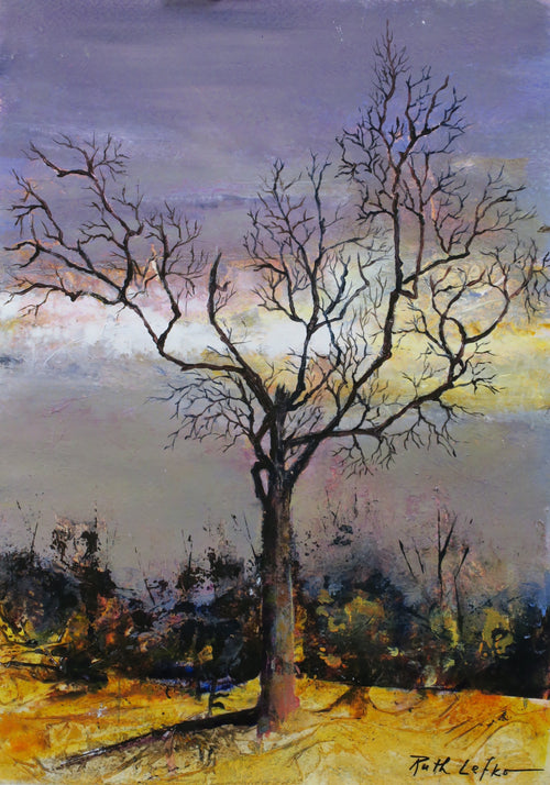 """Burl's Tree"" by Ruth Lefko - Reproduction"