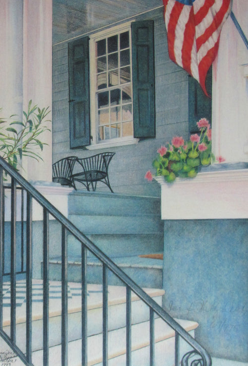 """Charleston Steps"" by Jennifer Carpenter - Reproduction"