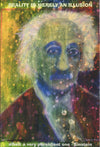 """Einstein"" by David Hall - Reproduction Poster"