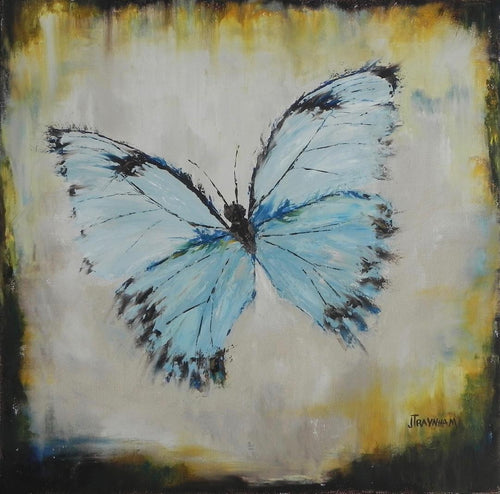 """Flight Pattern"" by Jenny Traynham - Original oil & cold wax"