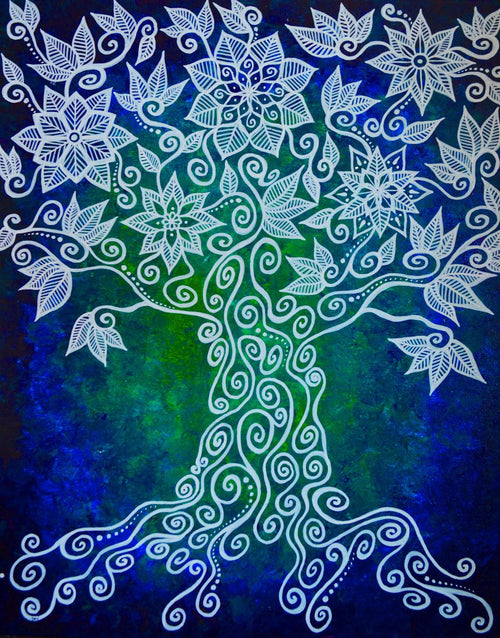 """Mother Earth Spirit Tree"" by Bronwen Valentine"