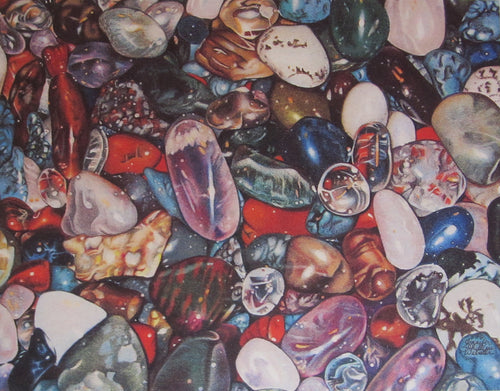 """Rocks In a Hard Place"" by Jennifer Carpenter - Reproduction"