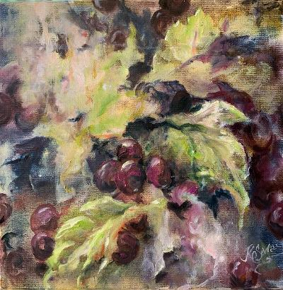 """Vitis"" by J K (Karen) Phillips Sewell - Oil"
