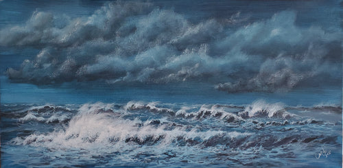 """Calling the Storm"" by Selena Doolittle McColley - Acrylic"