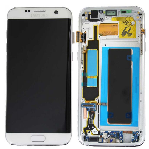 Samsung S7 Edge LCD with frame (Original)