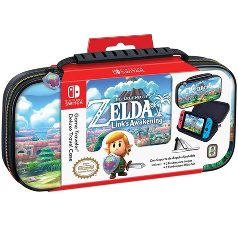 Bigben Deluxe Travel Case for Nintendo Switch The Legend of Zelda Link's Awakening