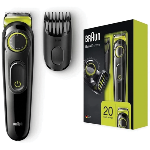 Braun Beard trimmer BT3021 with Precision Dial & 1 Comb