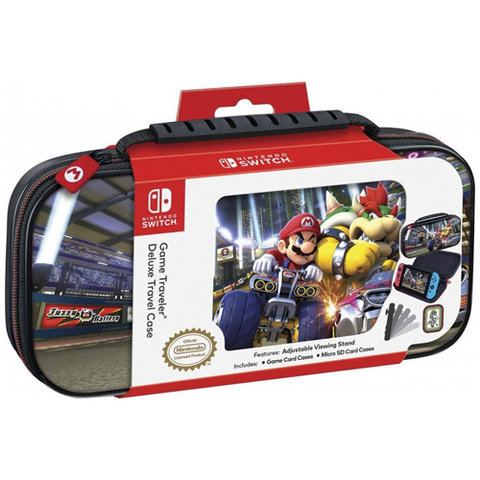 Bigben Deluxe Travel Case for Nintendo Switch Mario Kart