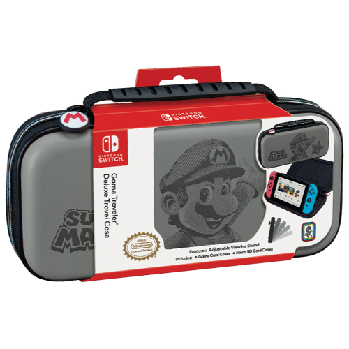 Bigben Official Super Mario Travel Case for Nintendo Switch