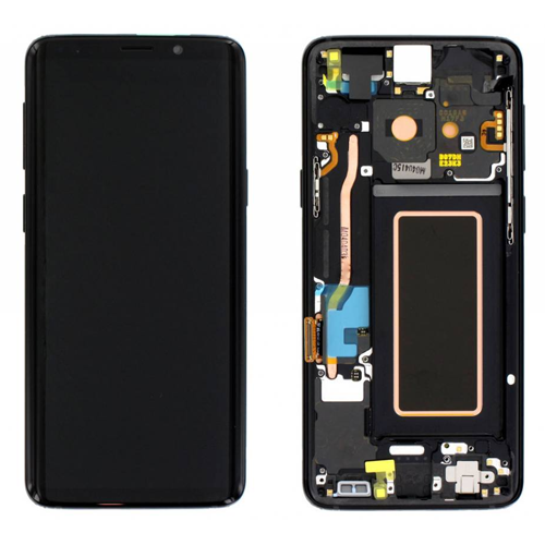 Samsung S9 LCD with frame (Original)