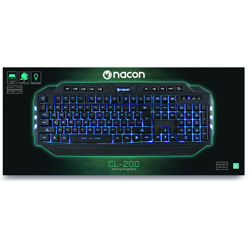 Nacon Gaming Keyboard CL-200 US Querty
