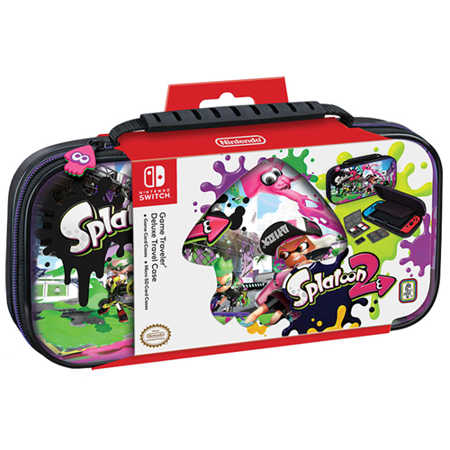 Bigben Deluxe Travel Case Official RDS Splatoon 2 for Nintendo Switch