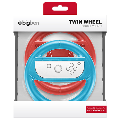 Bigben Pack of Two Wheels for Joy Con