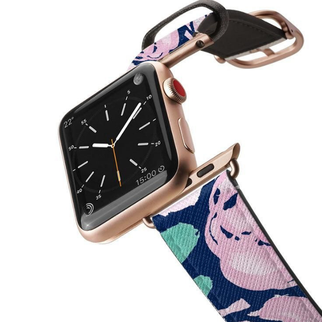Casetify Apple Watch Band Saffiano - All Series 42MM