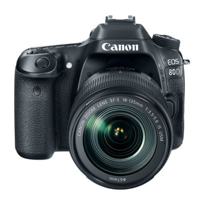 Canon EOS 80D 18-135 IS USM Lens