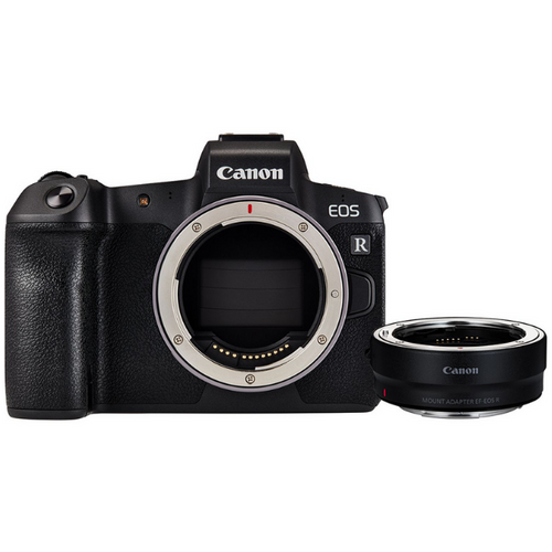 Canon EOS RP Mirrorless Digital Camera + Adapter