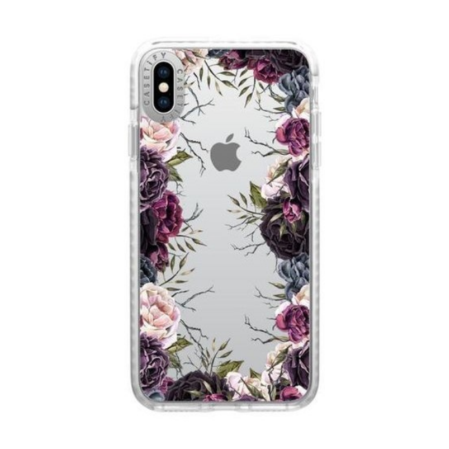 Casetify Impact Case Dark Floral For Iphone XR