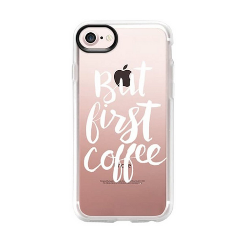 Casetify But First Coffee Brush For Iphone 7/8