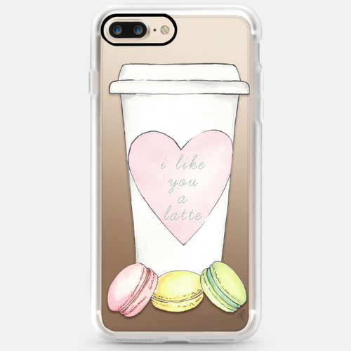 Casetify I Like You A Latte For Iphone 7/8 Plus