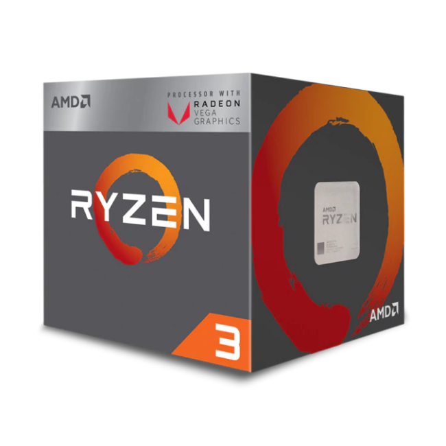 AMD Ryzen™ 3 2200G with Wraith Stealth cooler