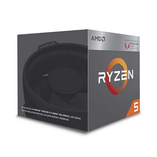 AMD Ryzen™ 5 2400G with Radeon™RX Vega 11 Graphics