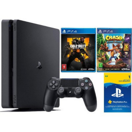 Sony PlayStation 4 1TB Gaming Console + 2 Free Games & Playstation Plus