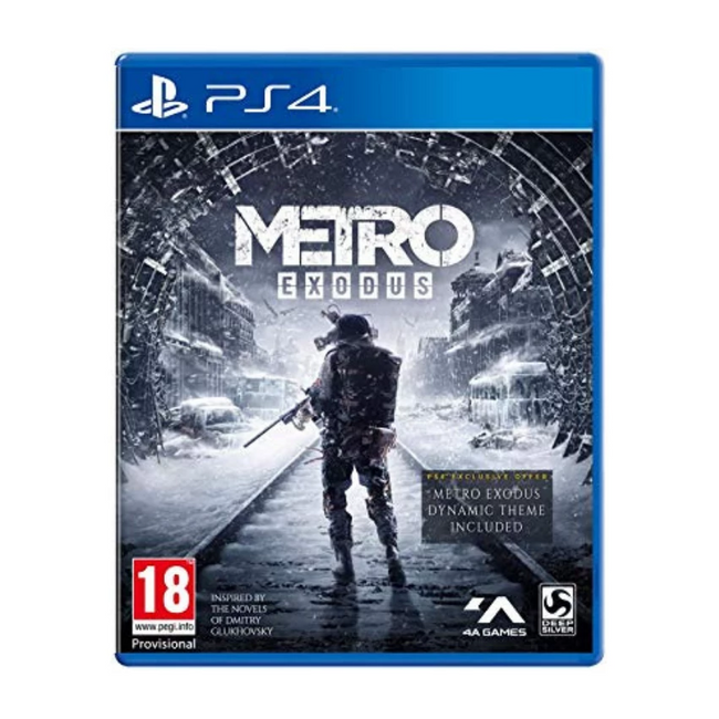 Metro Exodus: Day One Edition PS4 Game