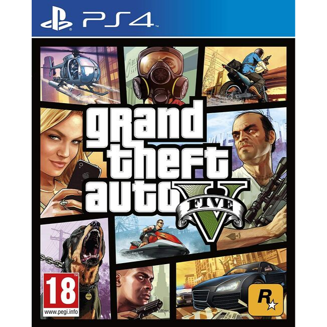Gta 5 PS4 Game