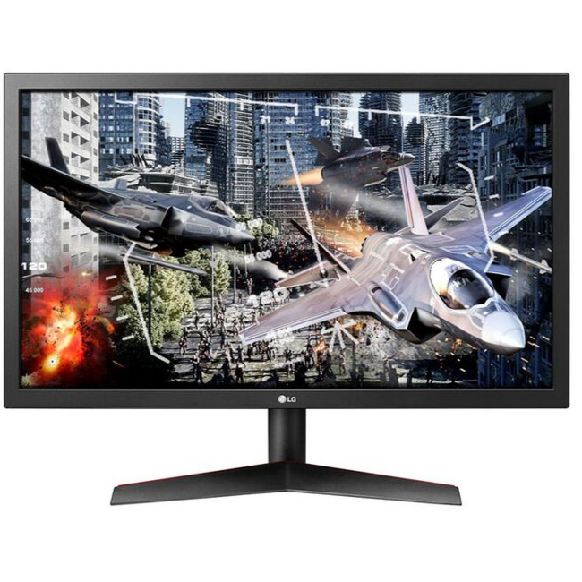 LG Gaming Monitors UltraGear 24'' LED 144Hz 24GL600F