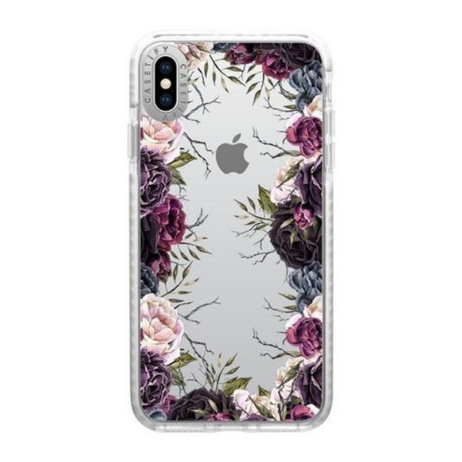 Casetify Impact Case Dark Floral For Iphone XS Max