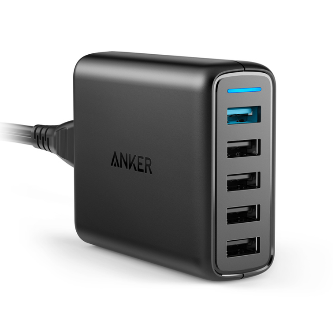 Anker Power Port 5, Quick Charge Charger