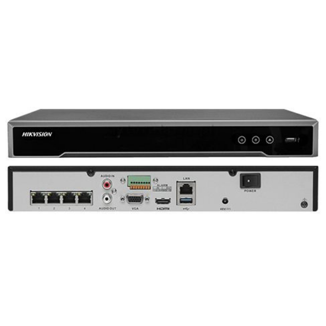 Hikvision DS-7608NI-K2/8P Embedded Plug & Play 4K NVR