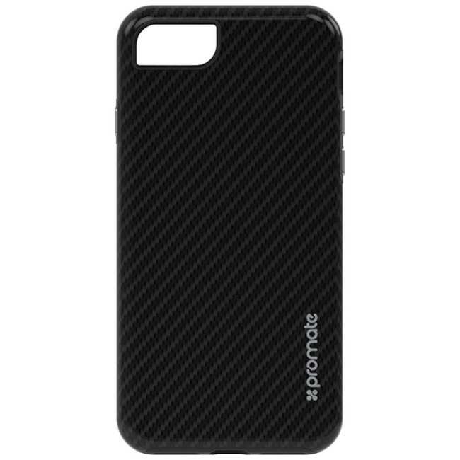 Promate Carbon Ultra-Thin Scratch Proof - Black