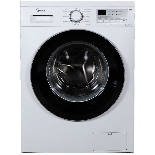 Midea MFG80-S1412 Front Load Washing Machine 8kg