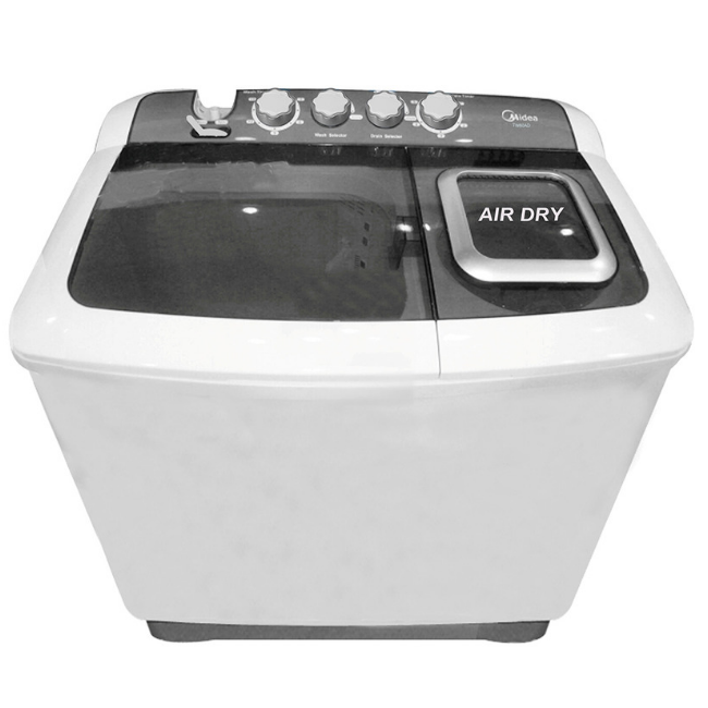 Midea MTE80-P1302PS Twin Tub Washing Machine 8kg