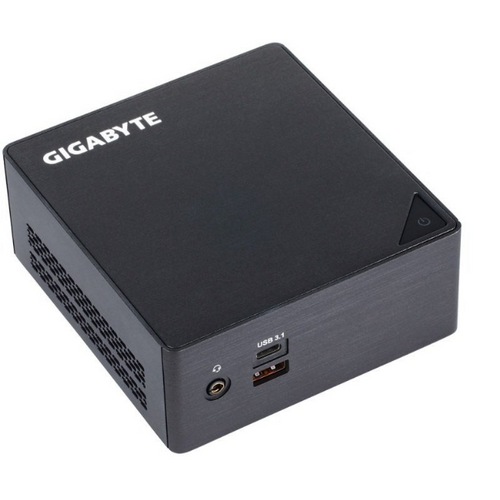 Gigabyte BRIX Mini PC Barebone - Intel Core i3-7100U - GB-BKI3HA-7100