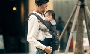 [K-Brand] Micro-Adjustment Sizing Baby Carrier