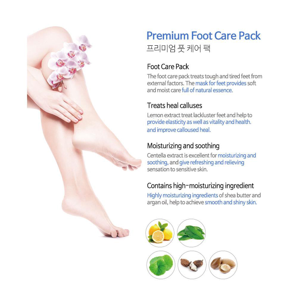 [MIJIN] Premium Foot Care Pack (Moisturizing Socks for Moisturizing & Nutrients)