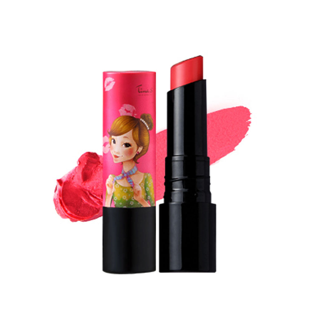 The Elixir Beauty Fascy All-in-One Korean Beauty Tina Tint Lip Essence Balm, Lipstick + Tint + Lipbalm, 8+ Hours of Moisture, Vivid and Strong Color