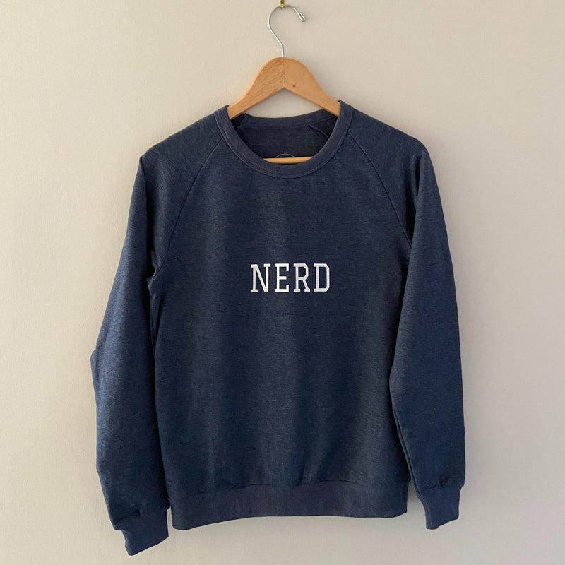 nerd womens sweatshirt