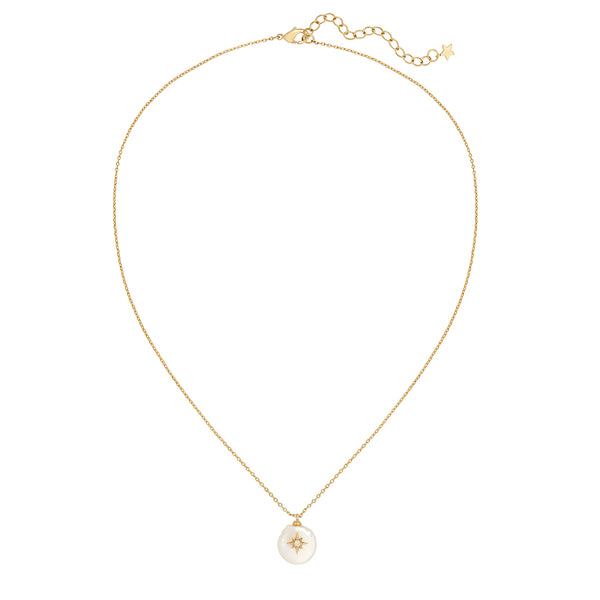 arie pearl pendant necklace