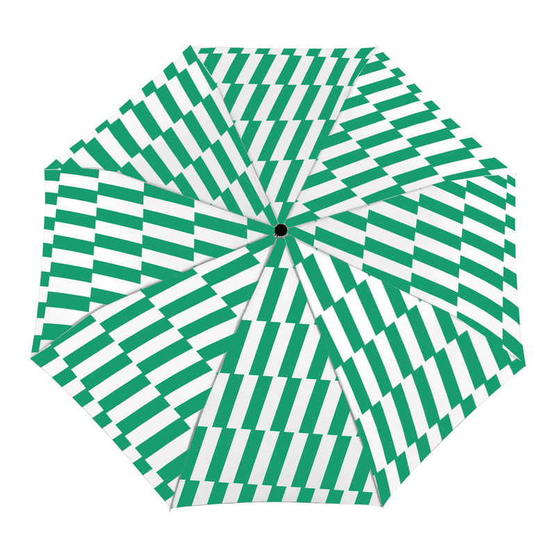 kelly green duckhead umbrella open view