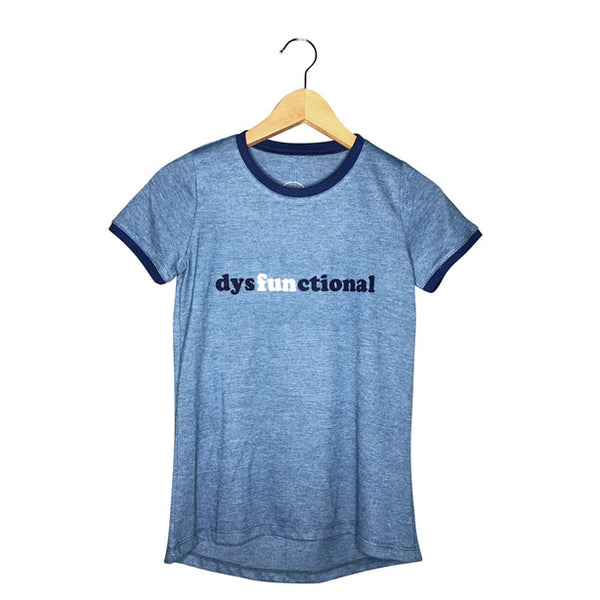 Women's Vintage Tee | DysFUNctional Graphic