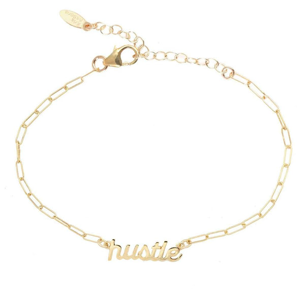 Hustle Bracelet in Gold Chain