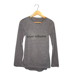 Womens Political tee | Know Collusion