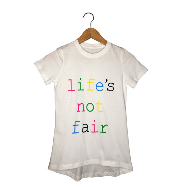 Life's Not Fair Short Sleeve Tee | Mom's Graphic Tee