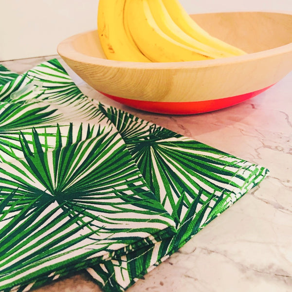 palm kitchen hand towel