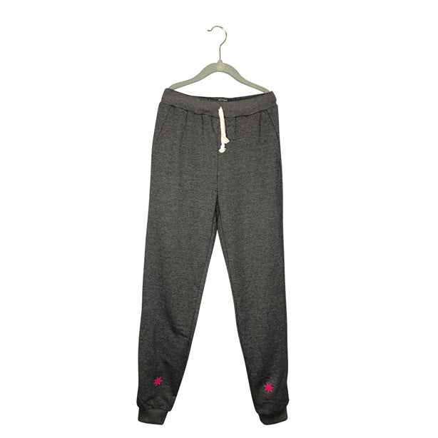 Womens Pink Stars Sweatpants | Graphic Joggers